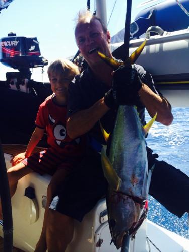 Hugo, Dad and Tuna